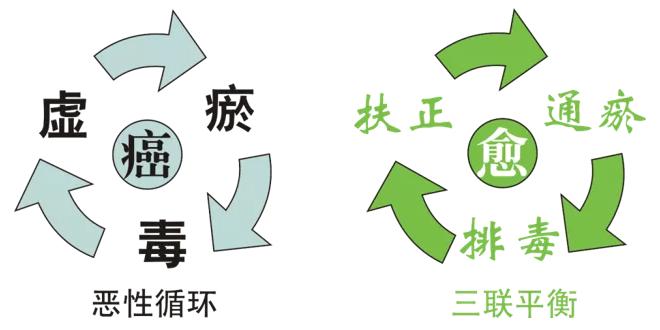"""袁希福 """" 三联平衡 """" 抗癌理论"""